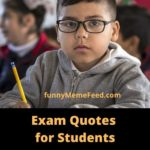 Inspirational Exam Quotes for students - no Tension, only Motivation