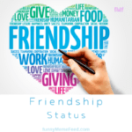 Friendship Status messages to share on social media