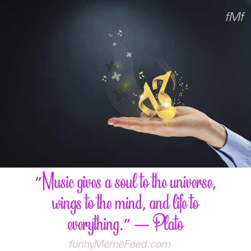 """quotes on music 