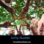 Unity Quotes and sayings in English with images - nature, nation, brotherhood
