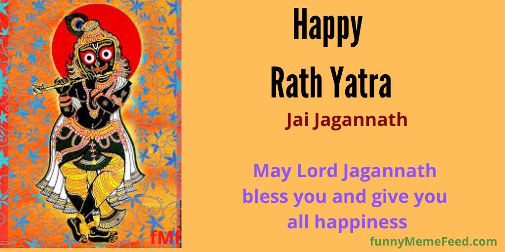 Image 6: Happy Rath Jatra image greetings | May Lord Jagannath bless you and give you all happiness