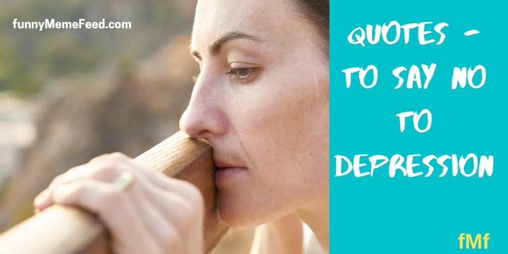 quotes to fight depression